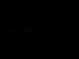 Daughters of Simone logo in cursive font